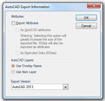 AutoCAD DWG (Export Format)
